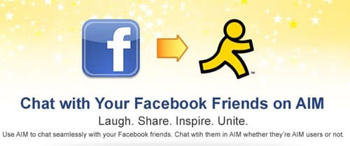 AOL goes social with Facebook and AIM instant messaging client partnership