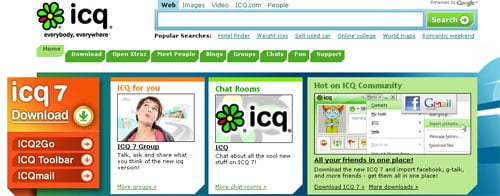 Rambler Media plans to bid for AOL's ICQ instant-messaging service