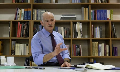 George Papandreou- Greece Prime Minister