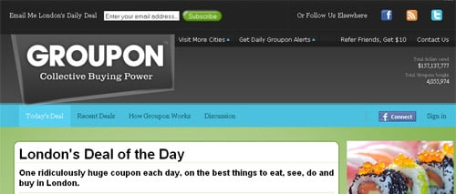 Groupon Grabs $135 Million From Digital Sky Technologies (DST) and Battery Ventures- Worth $1 Billion