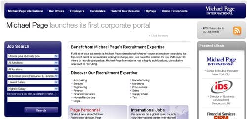 Michael Page International beat Hays PLC as overseas business boosts