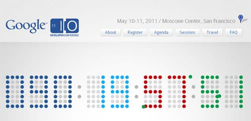 What is new at Google's annual developer conference (Google I/O 2011)?