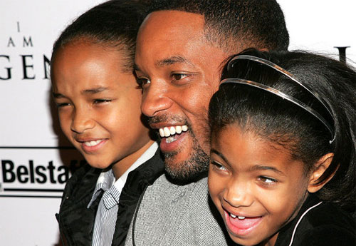 will smith kids. Will Smith kids Jaden