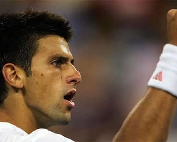 Novak Djokovic- number one men's tennis player in the world- Serbian