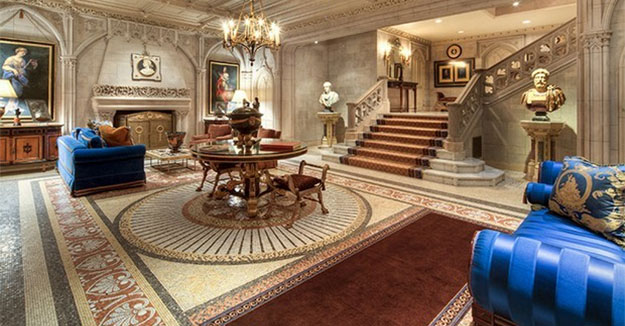 Woolworth Mansion Ultra Luxurious Home, Mega Properties For Sale In American Luxury Real Estate Market.