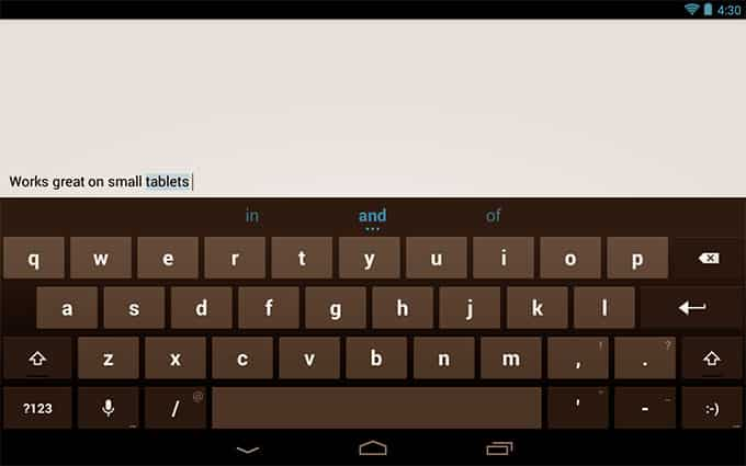 Google Android Keyboard apps