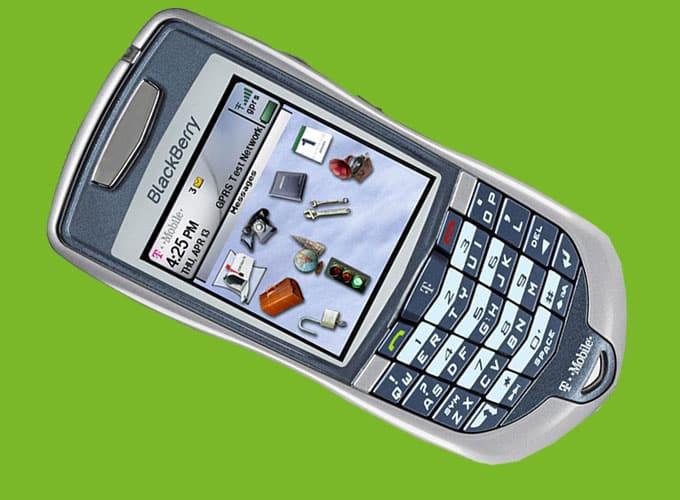 BlackBerry 7100 t