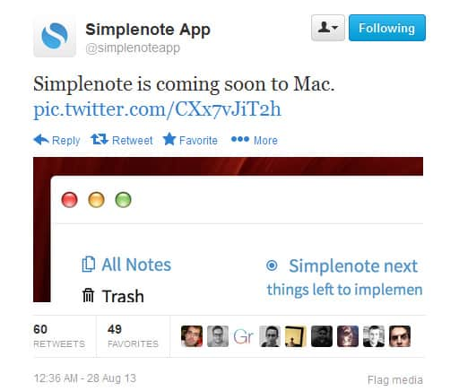 The Note-taking And Syncing App Simplenote Now Available On Android Devices