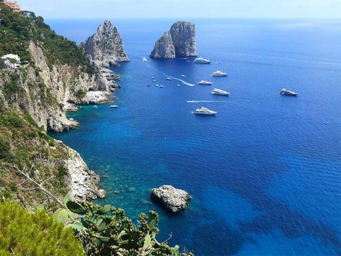 Island of Capri, Province of Naples