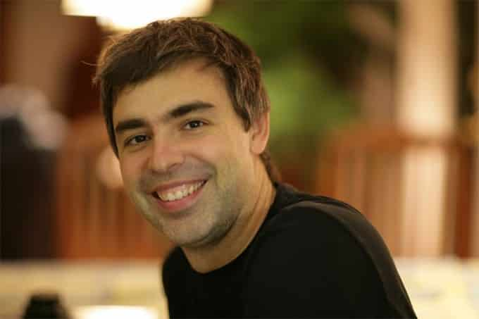 Larry Page CEO at  Google Inc.