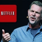 Reed Hastings CEO at the Netflix