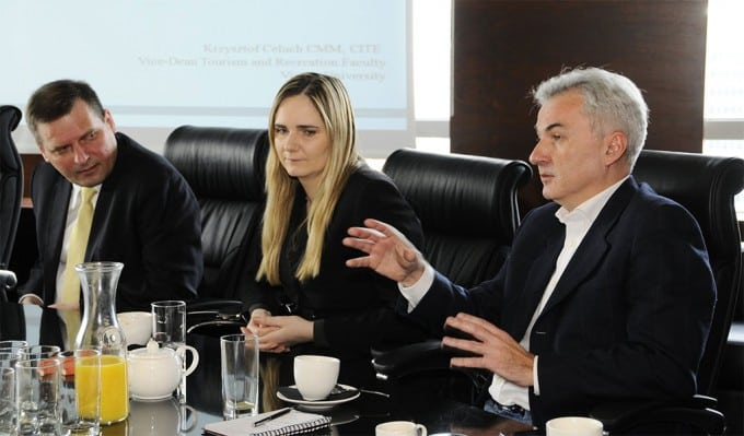 High Level Executives Meeting Milena Golda CEOWORLD Magazine