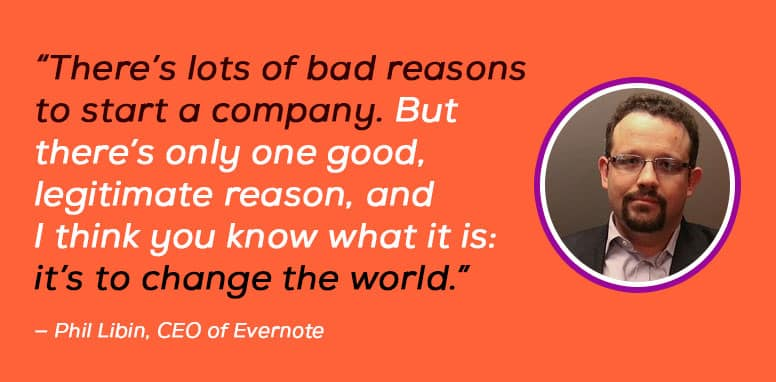Phil Libin, CEO of Evernote