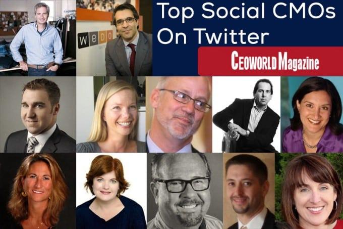 Top Social CMOs On Twitter