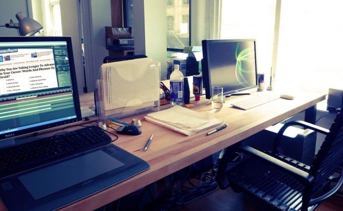 office workplace