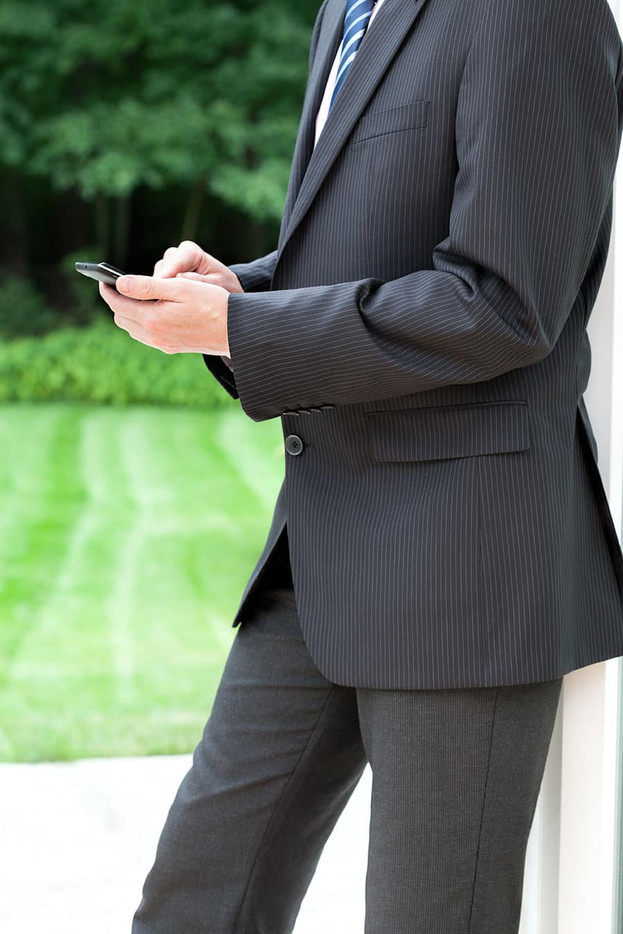 Mobile Businessman