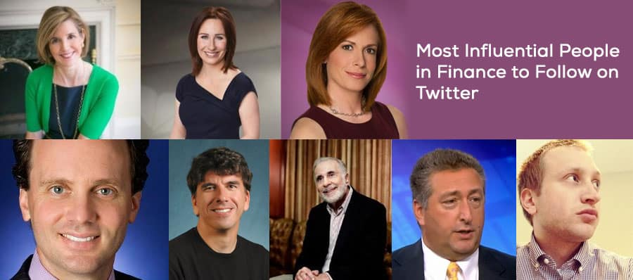 Most Influential People in Finance to Follow on Twitter
