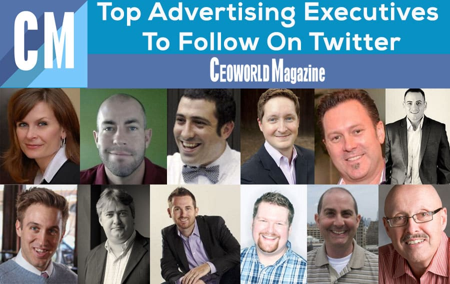 Top Advertising Executives To Follow On Twitter