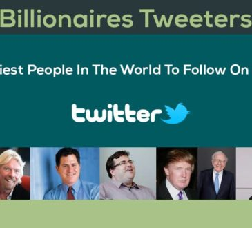 Wealthiest People In The World To Follow On Twitter: Billionaires Tweeters