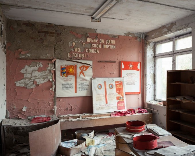 The Abandoned Schools of Pripyat in Ukraine, where time appears to have stood still: Photographs