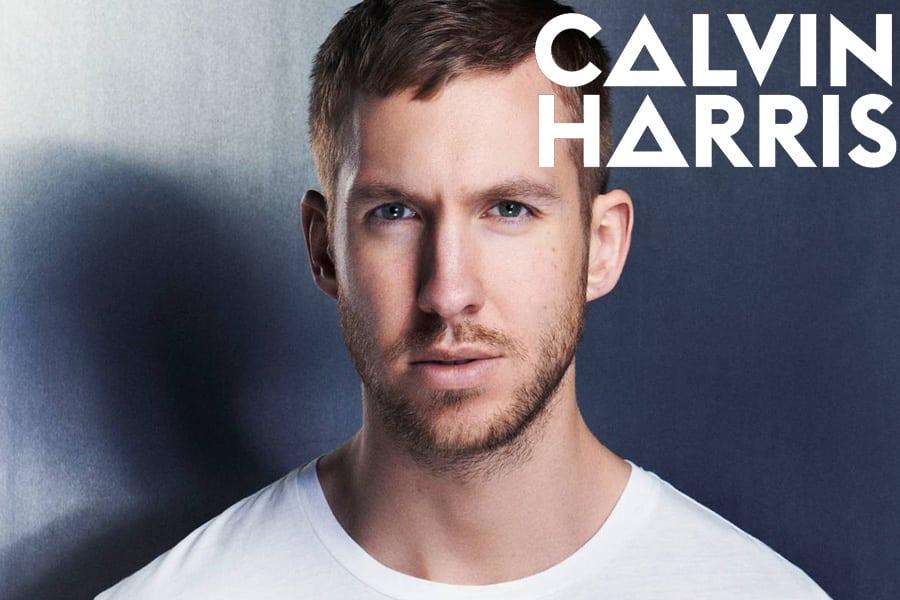 Scottish DJ Calvin Harris