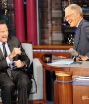 David Letterman with Robin Williams