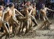 Vat Cau Nuoc The Mud Festival in Vietnam
