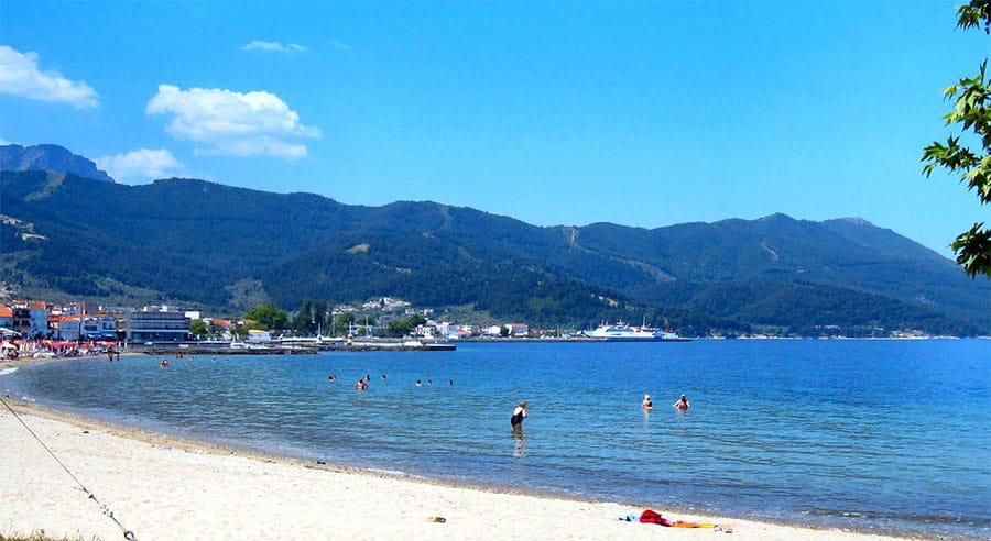 Vouliagmeni beach (Athens, Greece)