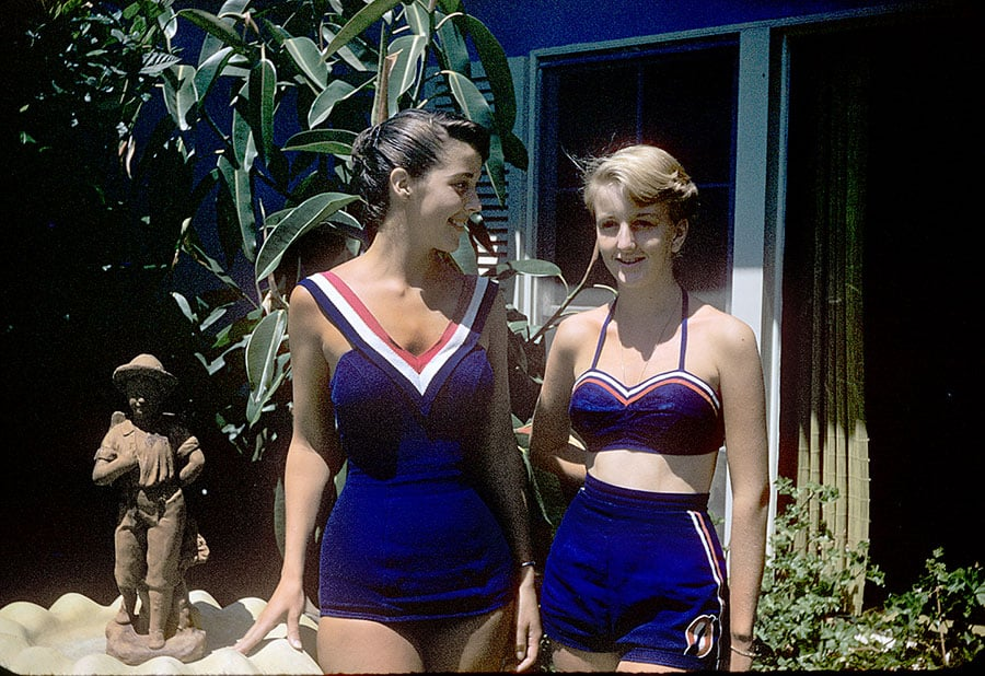 Swimsuits Fashion 1950s