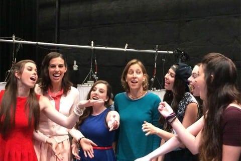 Susan Wojcicki with Cimorelliband