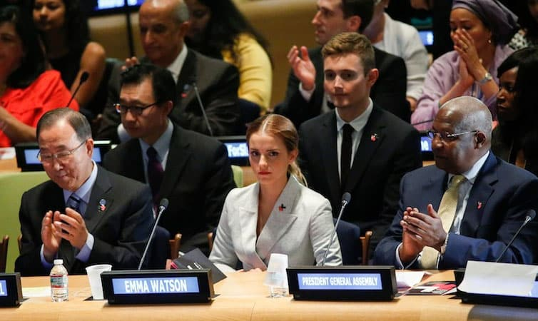 Emma Watson at the United Nations