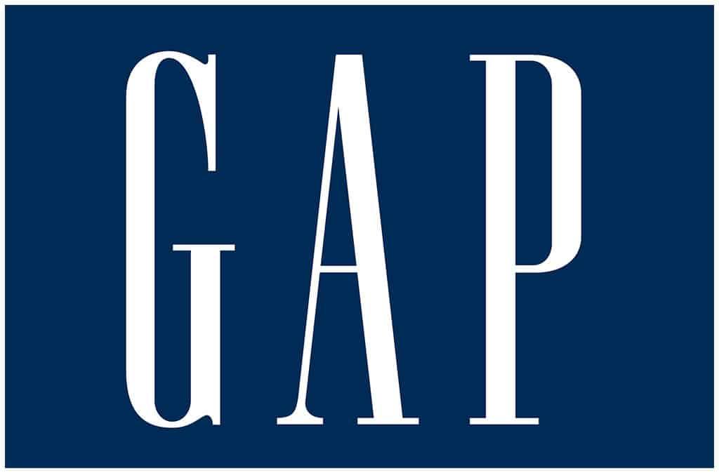 Gap: apparel retailers