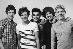 One Direction: Niall Horan, Louis Tomlinson, Harry Styles, Niall Horan and Zayn Malik