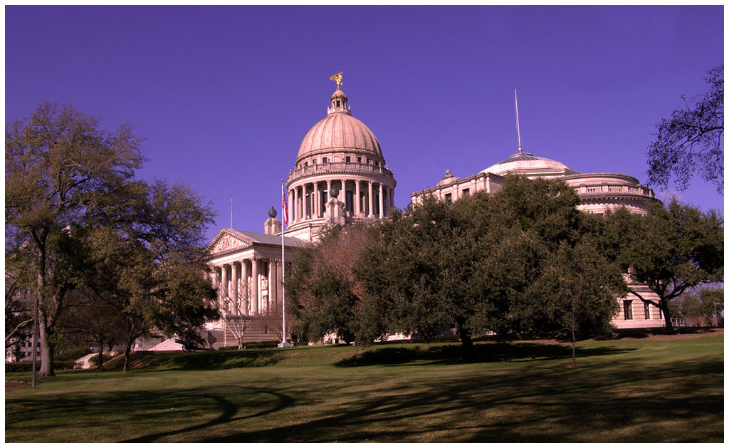 The Mississippi State Capitol in Jackson, Mississippi