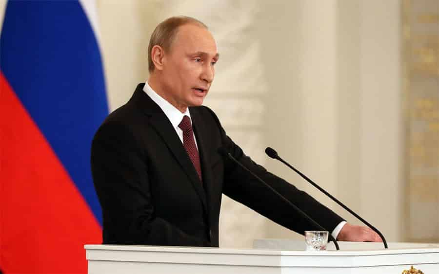 The 20 Most Powerful People In The world For 2014: Putin Tops