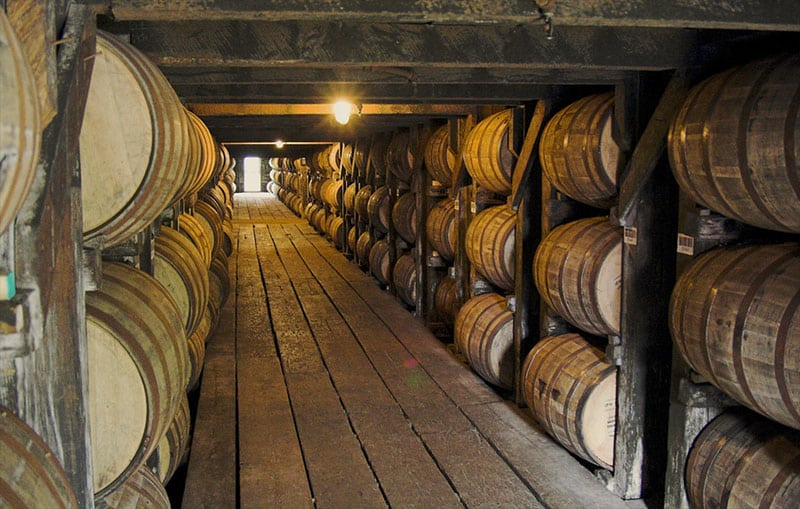 BOURBON distilleries KENTUCKY