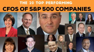 Meet The 20 Top Performing CFOs Of S&P 500 companies: America's Best Chief Financial Officers 2014