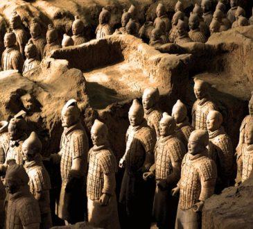 Terracotta Warriors of Qin Shihuang