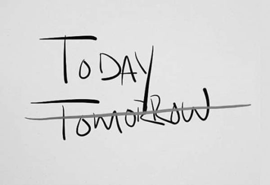 time management Today Tomorrow