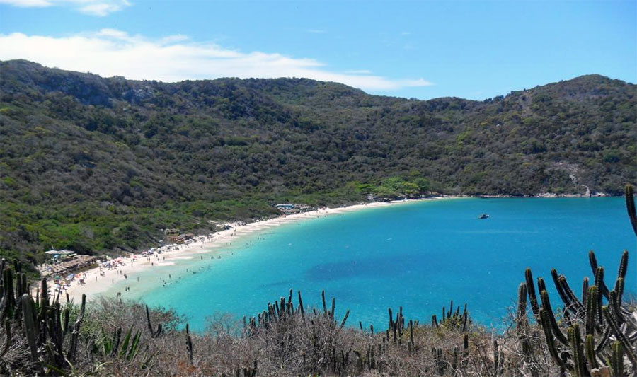 Forno Beach, Arraial do Cabo, Brazil