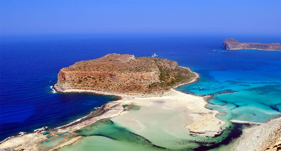Balos Beach and Lagoon Beach in Kissamos has been named 3rd best beach in Greece for 2015