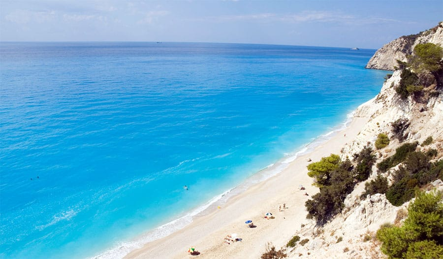 Eggremni Beach has been named 2nd best beach in Greece for 2015