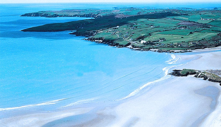 Inchydoney beach in West Cork  voted the best beach in Ireland for 2015