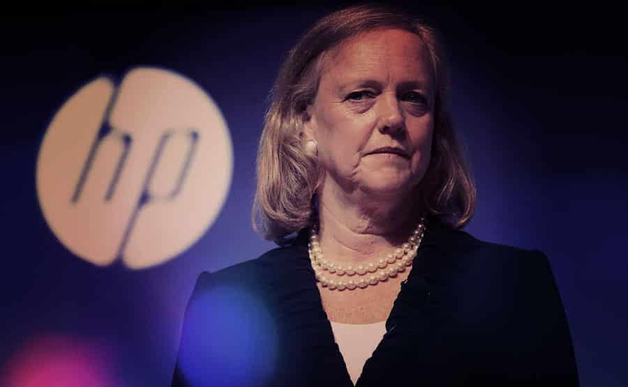 Meg Whitman, chief executive officer of Hewlett-Packard