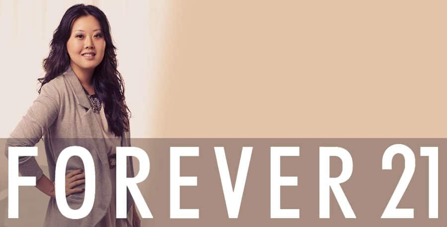 Jin Sook Chang of Forever 21