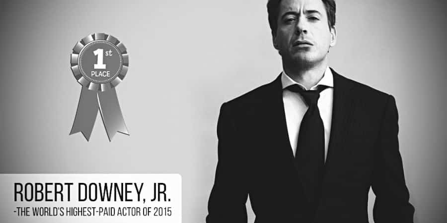 Top 34 highest paid actors in the world of 2015