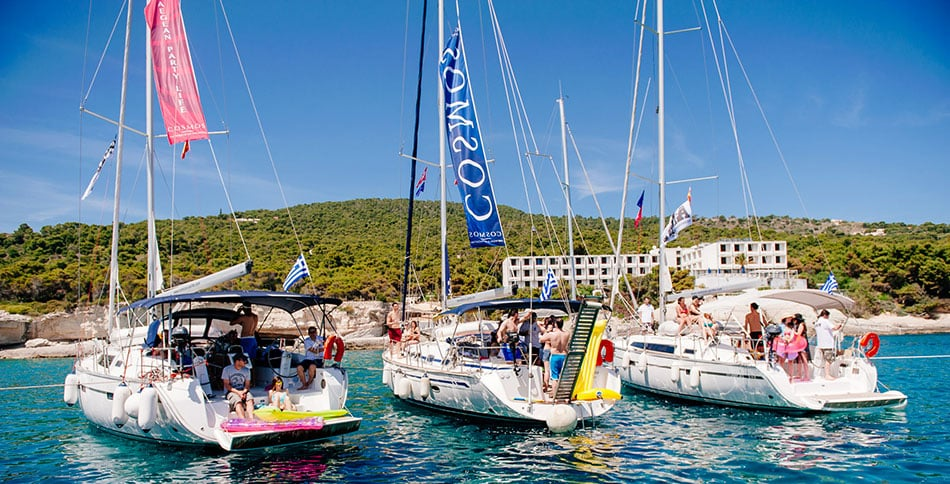 Yacht Charter Santorini