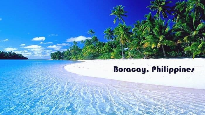 Boracay in Philippines