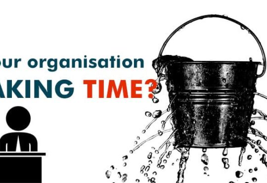 Is your organisation leaking time?