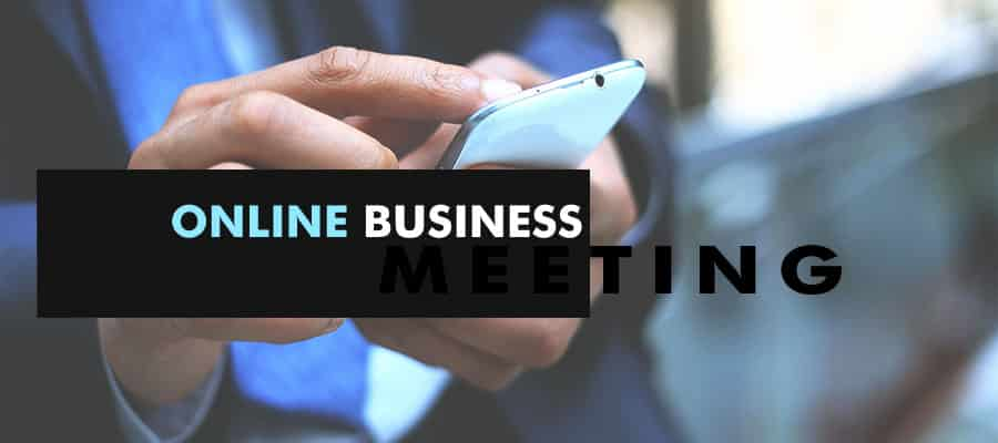 Online Business Meeting